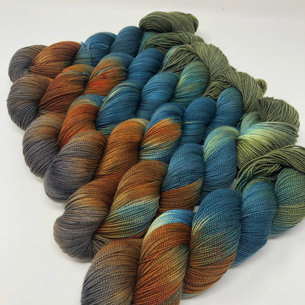 Mantua Merino Silk Sock Yarn Partridge