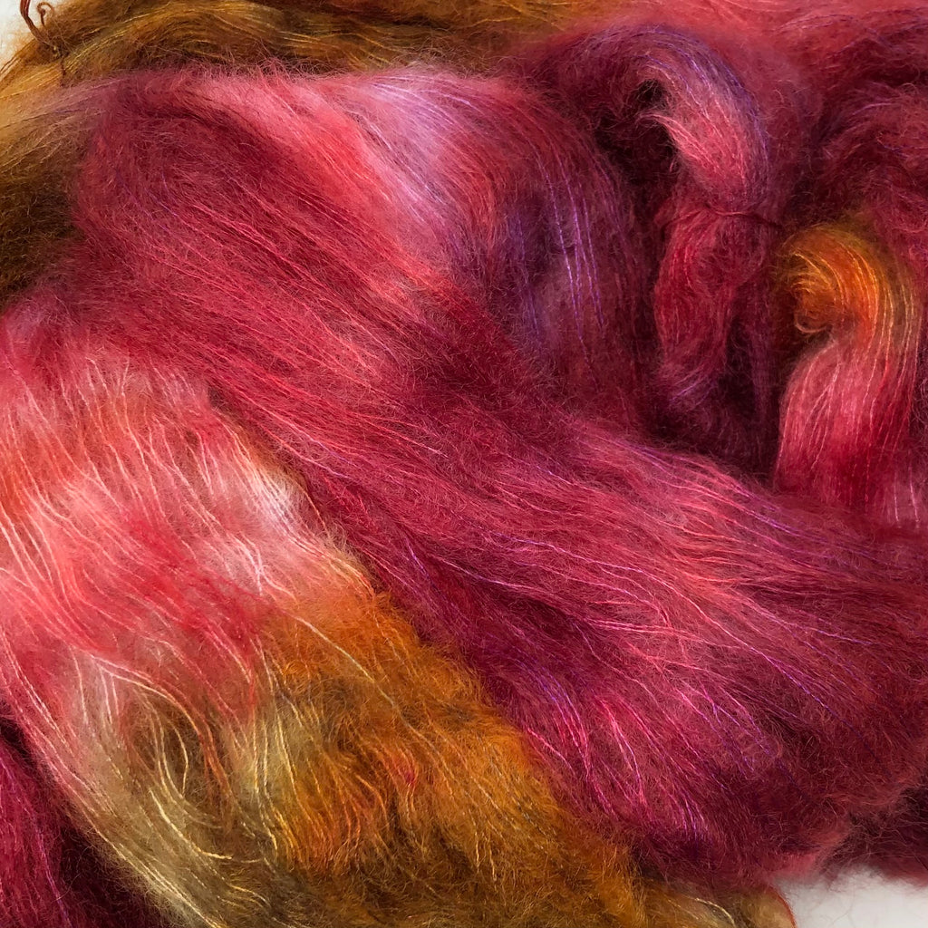 Fort Night Mohair and Silk Candy Apple