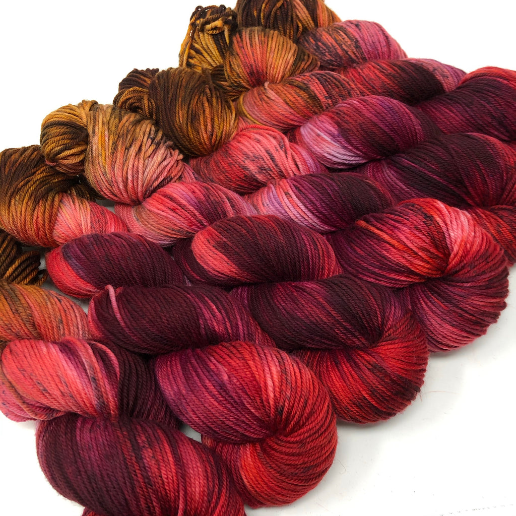Still heavy DK weight Yarn Candy Apple