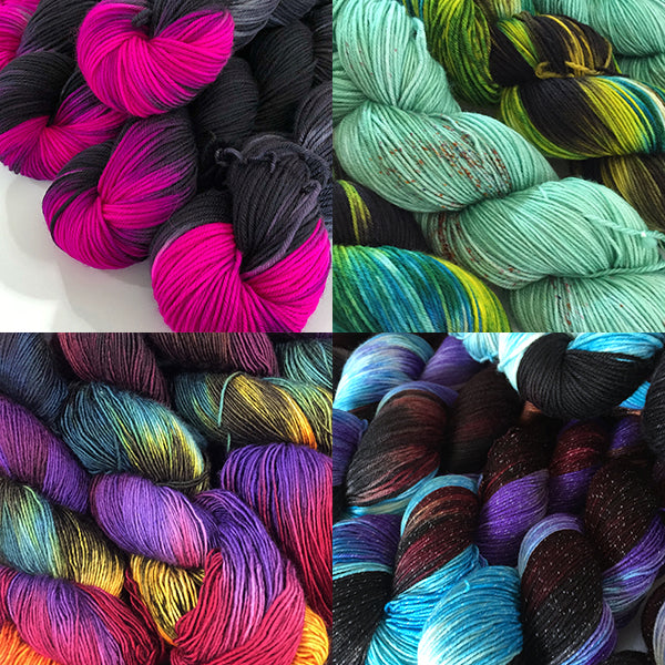 Deep Dyed Yarns Sock Yarn Club