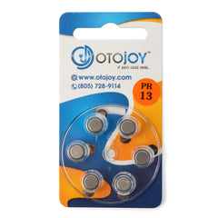 Otojoy Hearing Aid Batteries - 10 Pack (60 batteries)