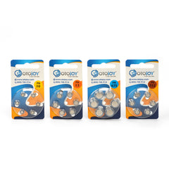 Otojoy Hearing Aid Batteries - 1 Pack (6 batteries)