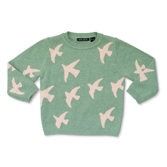 Birds  Sweater