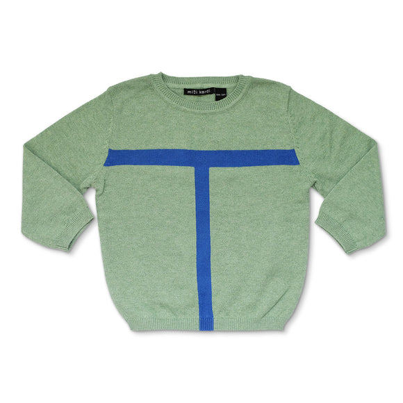 Green Court Sweater