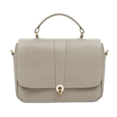 Ella Taupe leather Handbags
