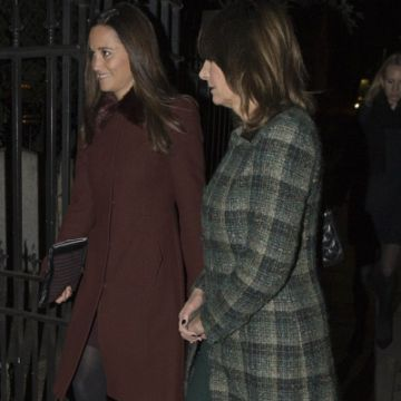 Pippa Middleton carries her Wilbur & Gussie clutch bag
