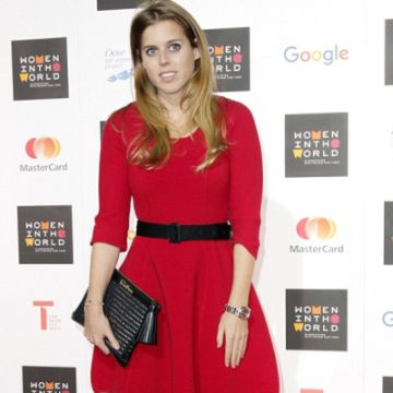 Princess Beatrice at the Women in the World summit