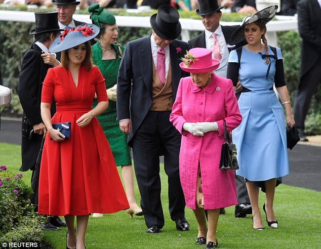 Princess Eugenie carries Wilbur & Gussie to Royal Ascot
