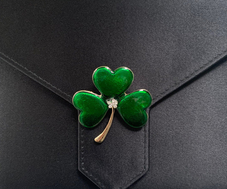 Four-leaf Clover Brooch