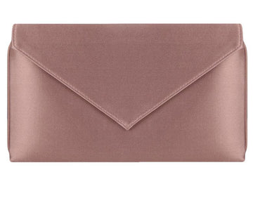Abby Oyster Silk Clutch