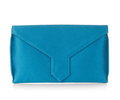 Bespoke Charlie Kingfisher Silk Clutch