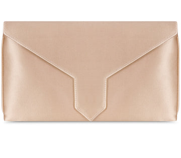 Edith Bespoke Pearl Silk Clutch