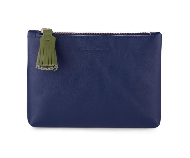 Navy Blue Coin Purse - Wilbur & Gussie - 1