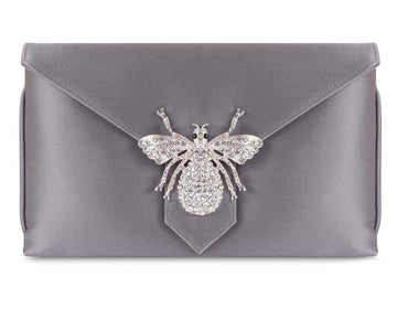 Charlie Steel Classic Silk Clutch