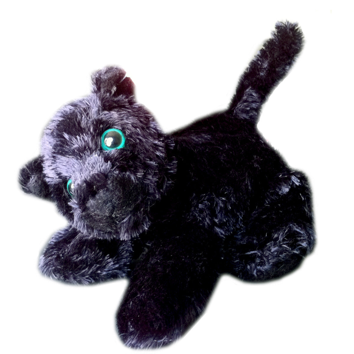 Plush Black Leopard - Onyx