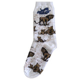 Sock - Crew Big Cat Rescue Logo Lion Geographic