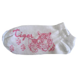 Sock - Shortie Pink Tiger