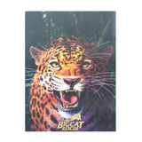Post Card - 3D Hollogram Hissing Jaguar