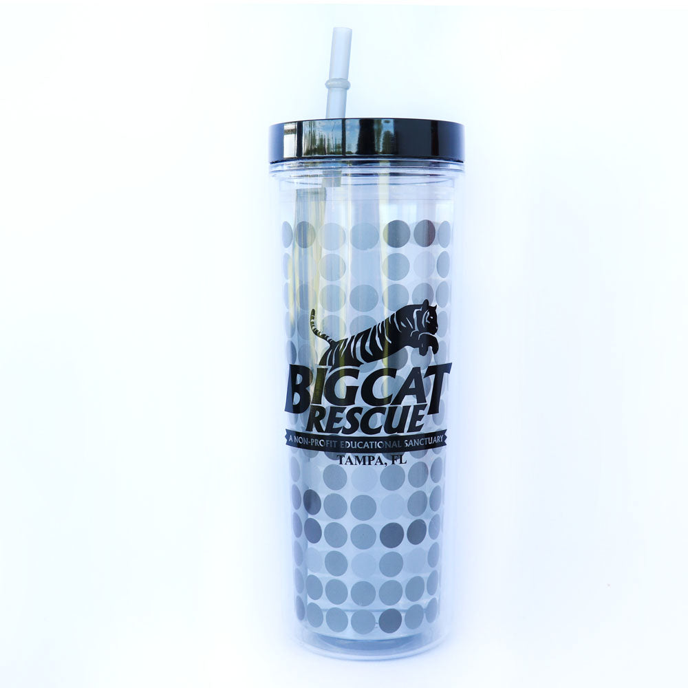 Cup - Color Changing BCR Logo Tumbler with Straw