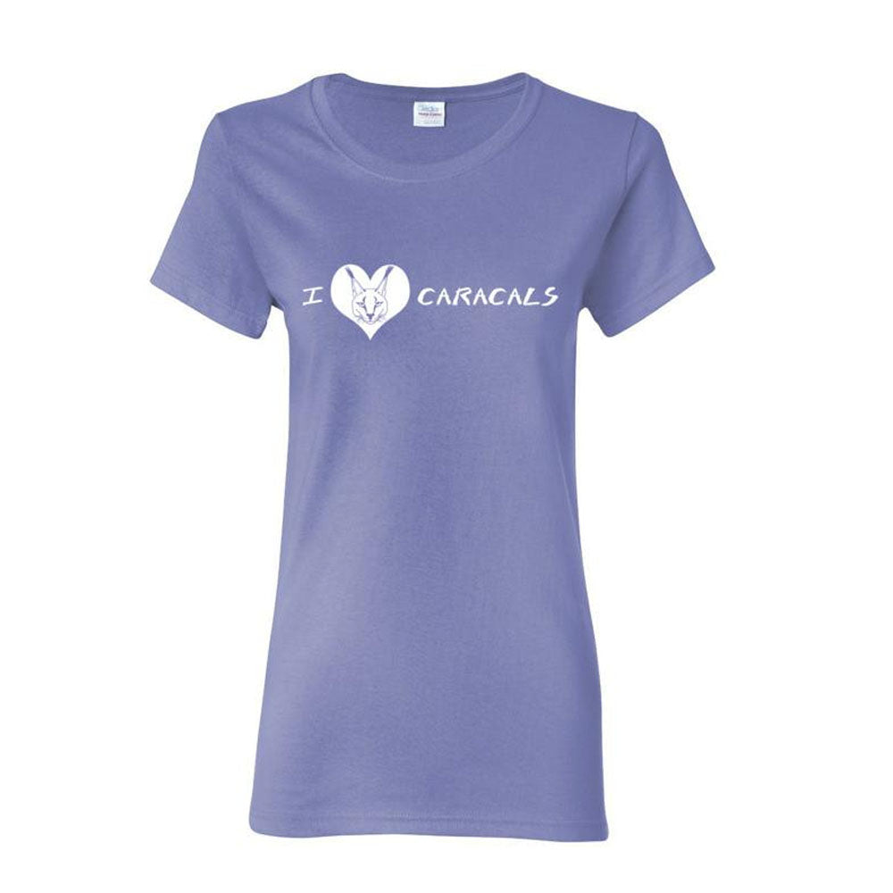 Shirt - I Heart Caracals Women's Scoop