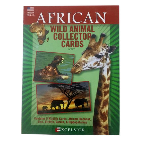 Toy - Wild Animal Collector Card Sets