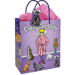 Gift Bag - Crazy Cat Lady