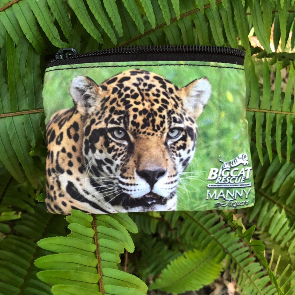 Coin Purse - Manny Jaguar