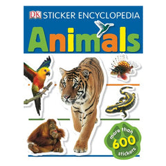 Book for Kids - Animals Sticker Encyclopedia