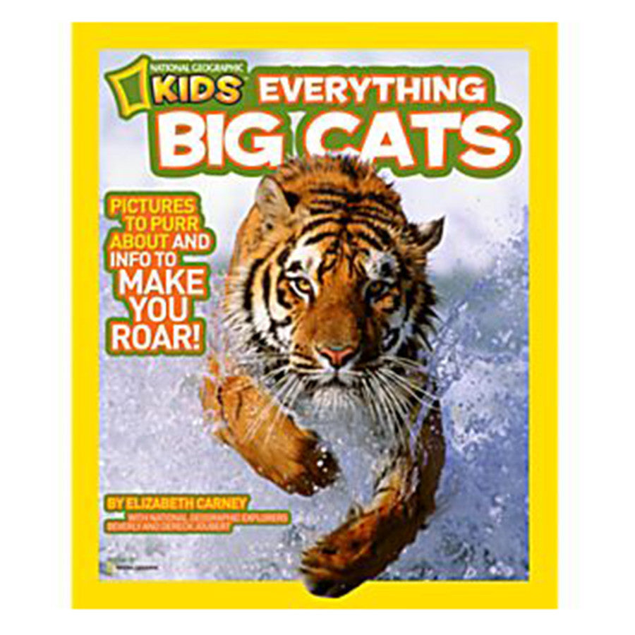 Book for Kids - Nat Geo Everything Big Cats