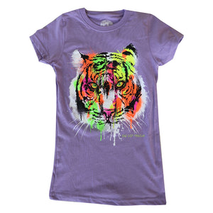 Kids Shirt - Luminous Tiger