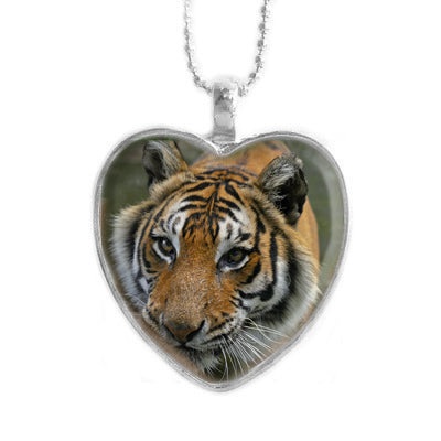 Pendant - Priya Tigress Heart