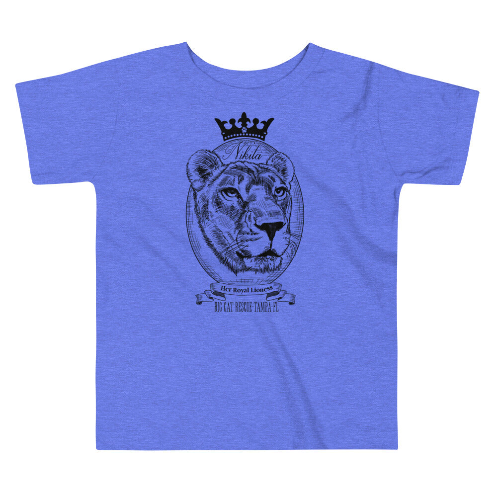 Kids Shirt - Her Royal Lioness Nikita Toddler Tee