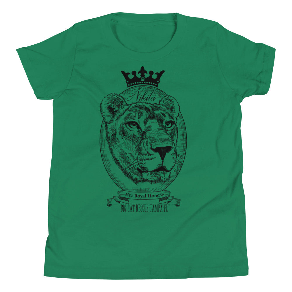 Kids Shirt - Her Royal Lioness Nikita Youth Tee
