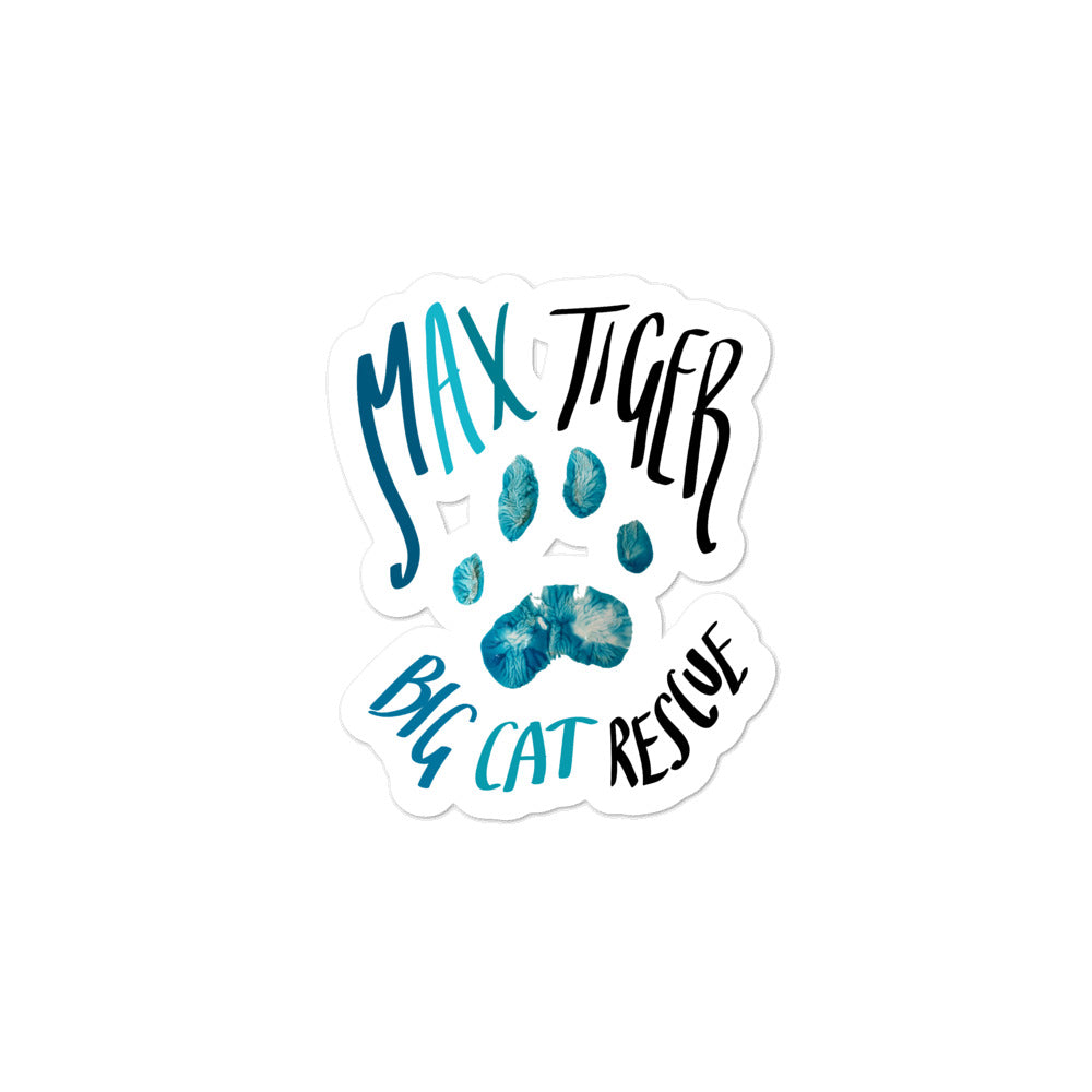 Sticker - Max Tiger Paw Print
