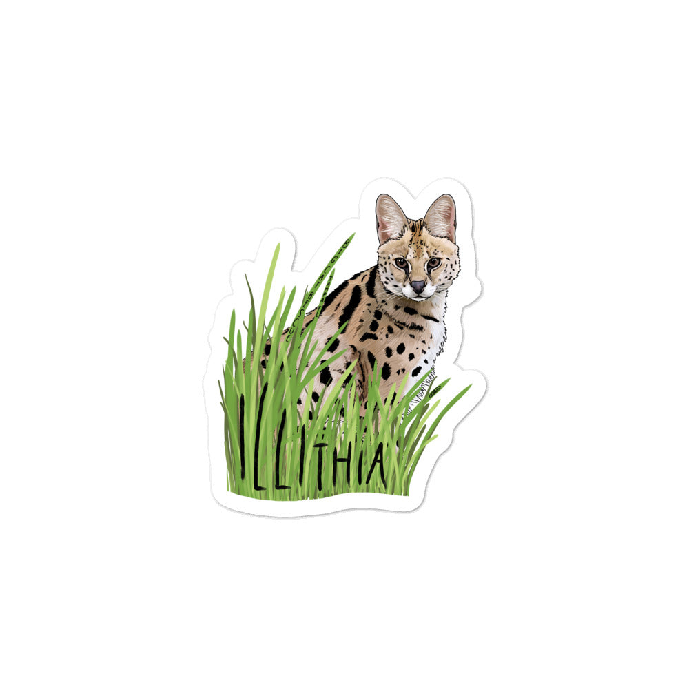 Sticker - Illithia Serval