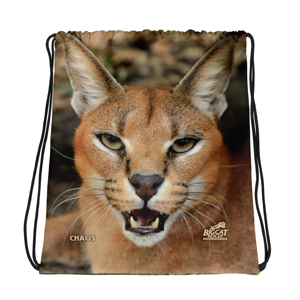 Bag - Cyrus & Chaos Caracal Reversible Drawstring