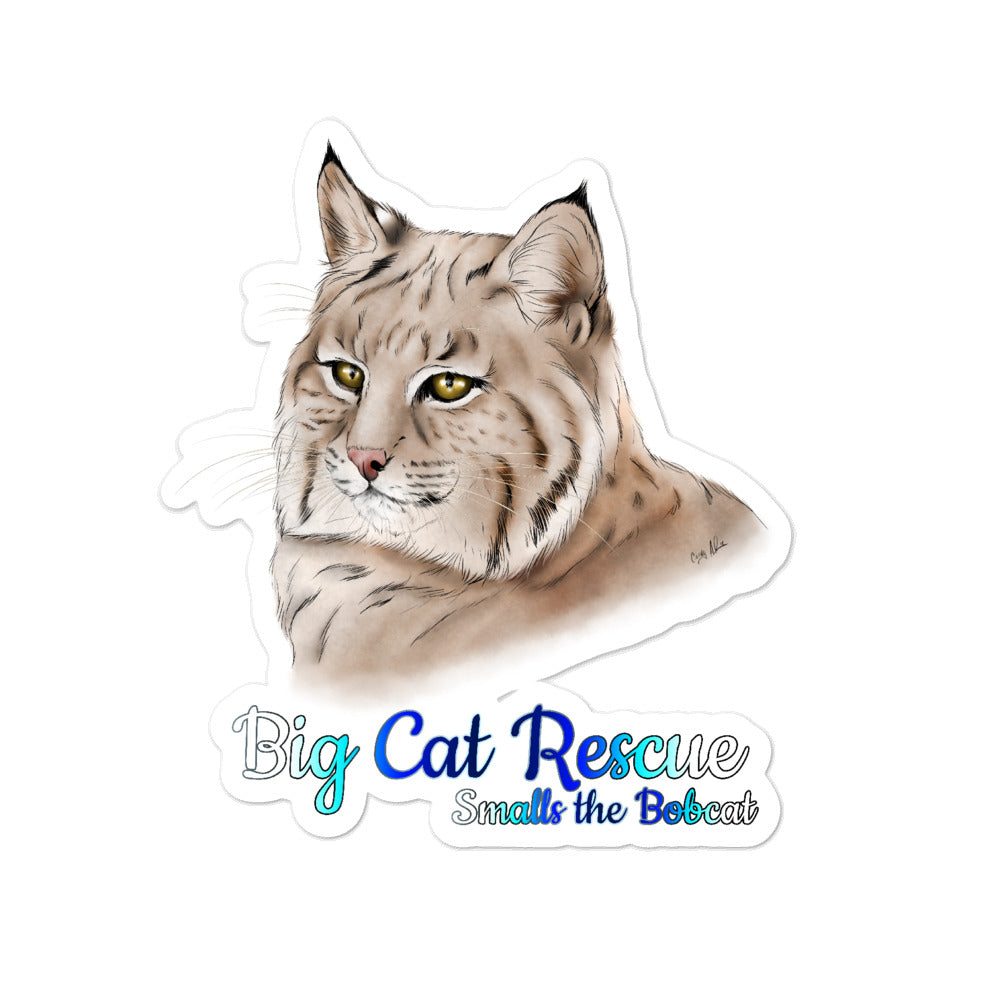 Sticker - Smalls the Bobcat