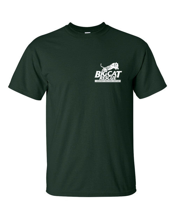 Shirt - Big Cat Rescue Logo Front & Back Print