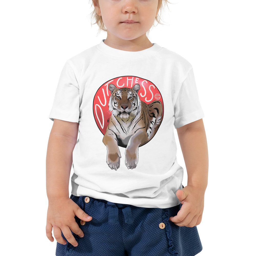Kids Shirt - Dutchess Tiger Vs. Red Ball Toddler Tee