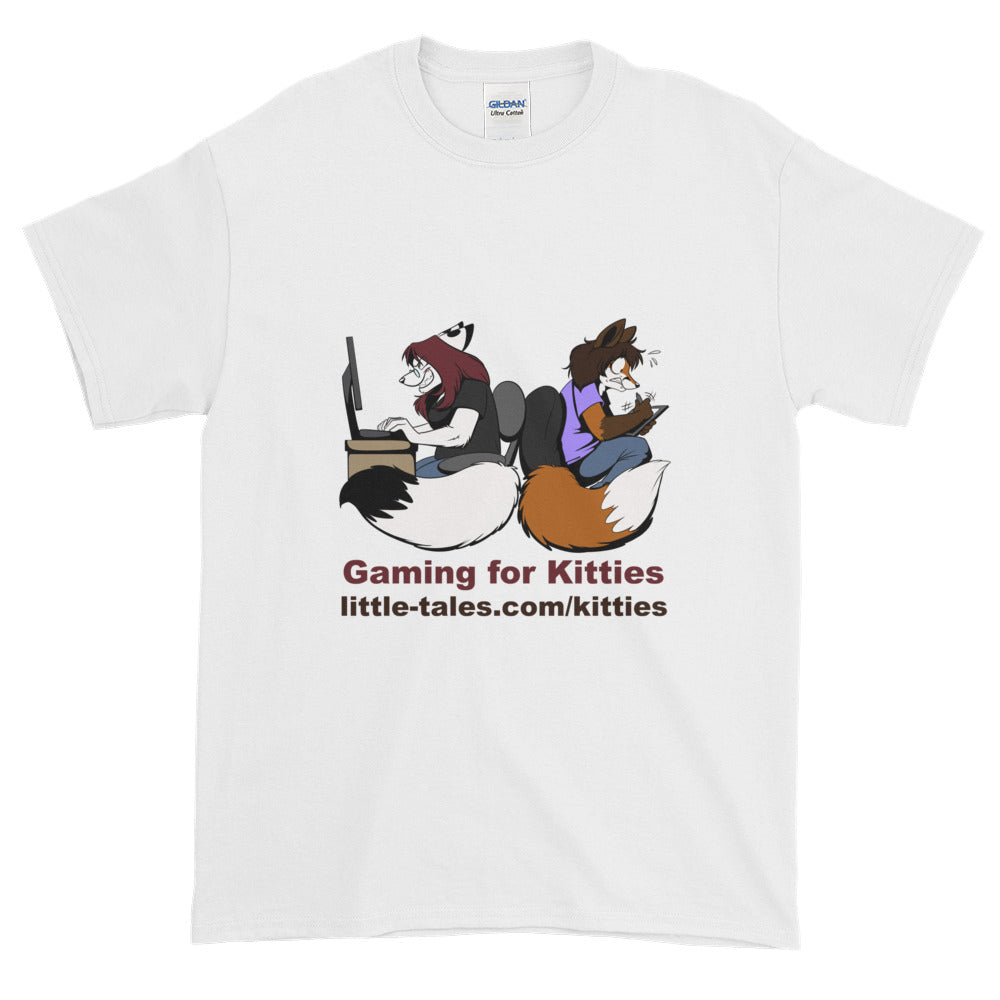 SHIRT - GAMING FOR KITTIES Short sleeve t-shirt