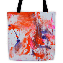 Bag - Tiger Paw Painting Tote