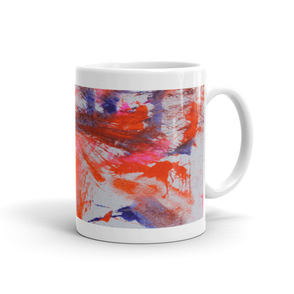 Mug - Tiger Paw Painting