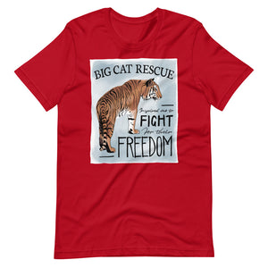 Shirt - Fight for Freedom (up to 4x)