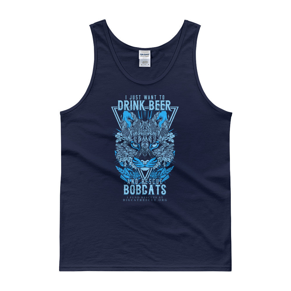 Tank - Drink Beer & Rescue Bobcats