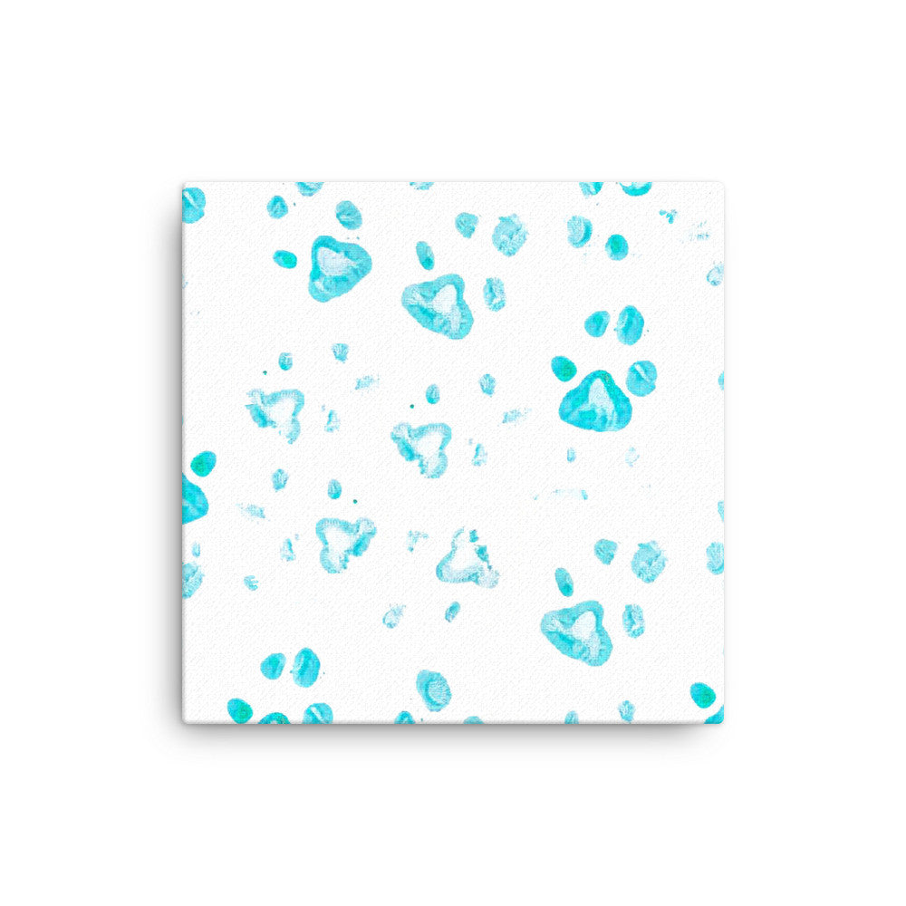 Canvas Paw Print - Pharaoh Serval