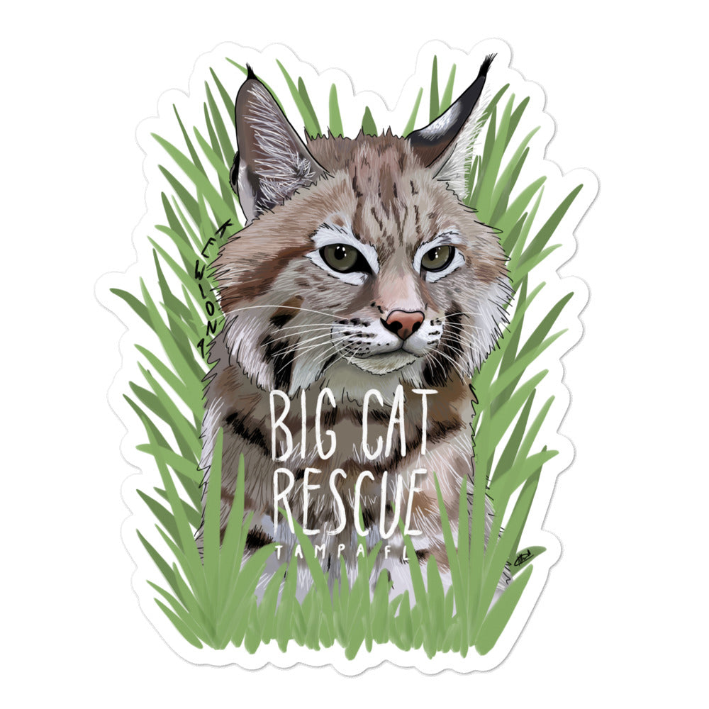 Sticker - Kewlona the Bobcat