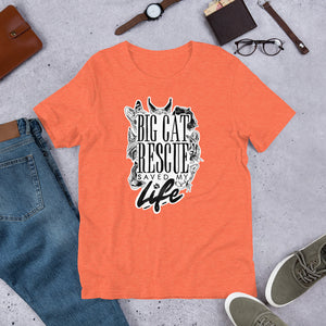 Shirt - Big Cat Rescue Saved My Life Tee