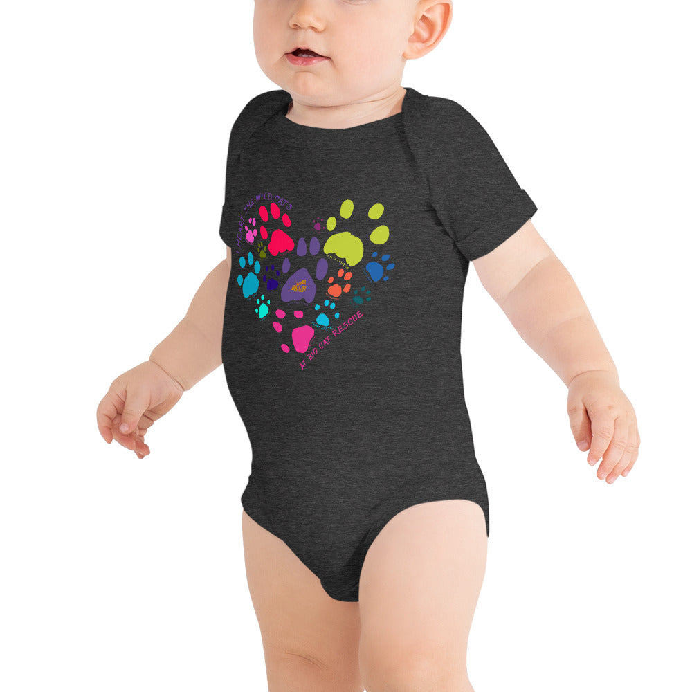 Baby - I Heart Big Cats Onesie