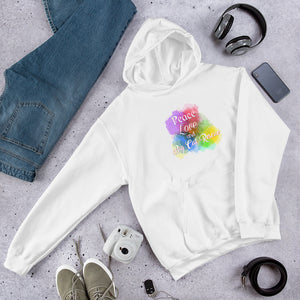 Sweatshirt - Peace, Love & Big Cat Rescue Hoodie