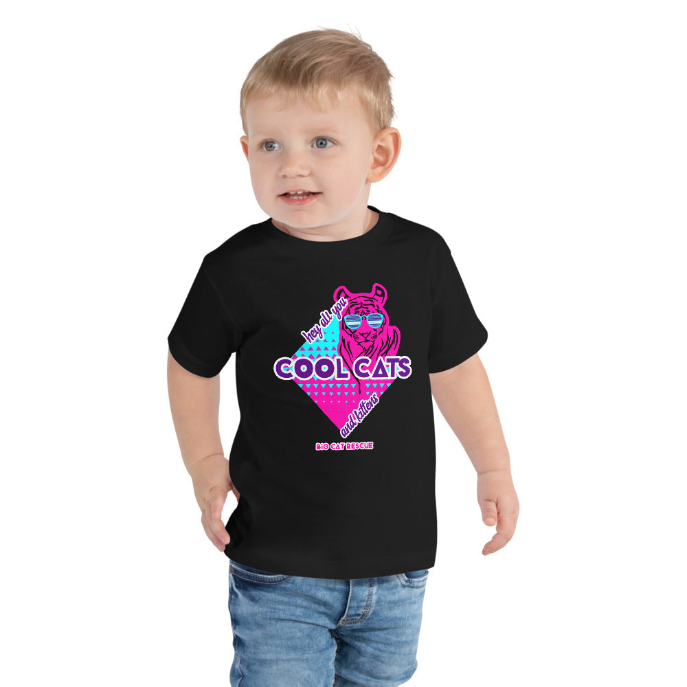 Kids Shirt - Hey All You Cool Cats & Kittens Toddler Tee